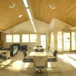 Common area, front vestibule & kitchen