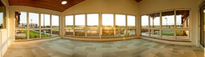 Panoramic view of Sun Room