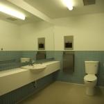 Wheel chair access Common area washroom